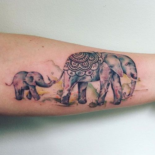 75 Best Elephant Tattoo Designs For Women (2020 Guide) | Elephant .