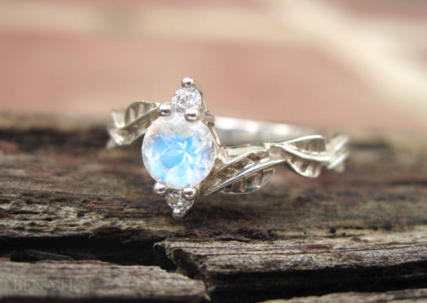 15 Enchanting Handmade Moonstone Jewelry Designs You're Going To Ado