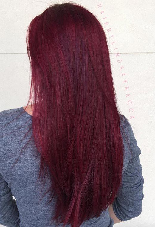 63 Yummy Burgundy Hair Color Ideas: Burgundy Hair Dye Tips .