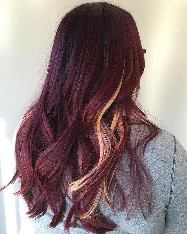 40 Burgundy Hair Color Ideas - ChecoP