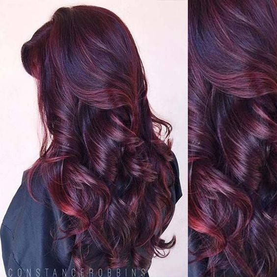 53 Exclusive Burgundy Hair Color Ideas for Alluring Tresses .