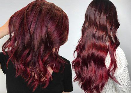63 Yummy Burgundy Hair Color Ideas: (Burgundy Hair Dy