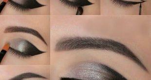 How to Apply Smokey Eyeshadow Step by Step   Smoky eye makeup .