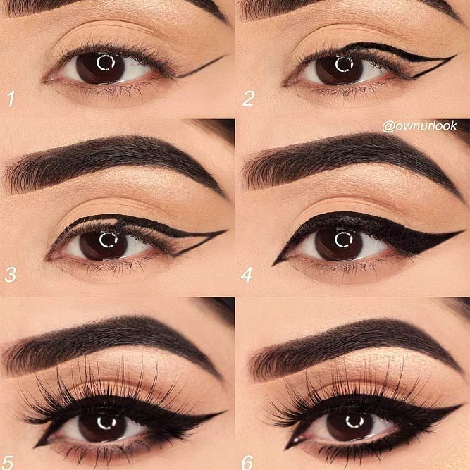 30 Terrific Makeup Ideas For Almond Eyes | No eyeliner makeup .