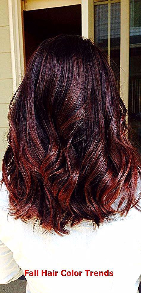 Trending Fall Hair Color Ideas #fallhaircolor #haircolors in 2020 .