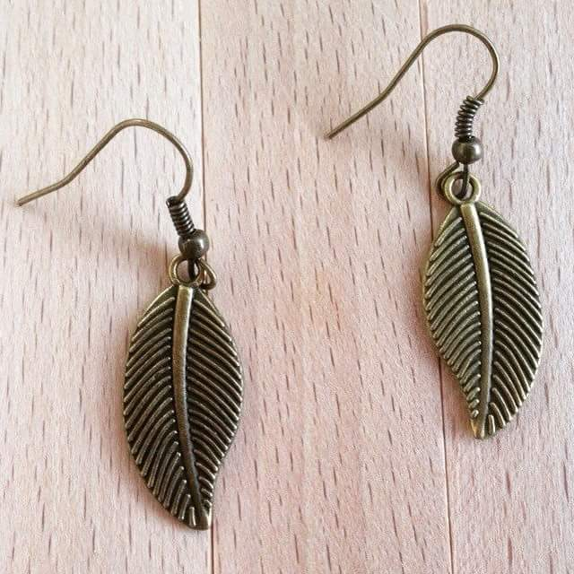 45+ Fall Inspired Leaf Earrings to Pump Up Your Style Quotie