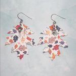 Fall Inspired Leaf Earrings