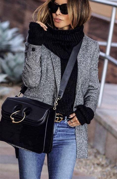 Best 25 Grey Blazer Outfit Ideas On Pinterest Grey | Winter .