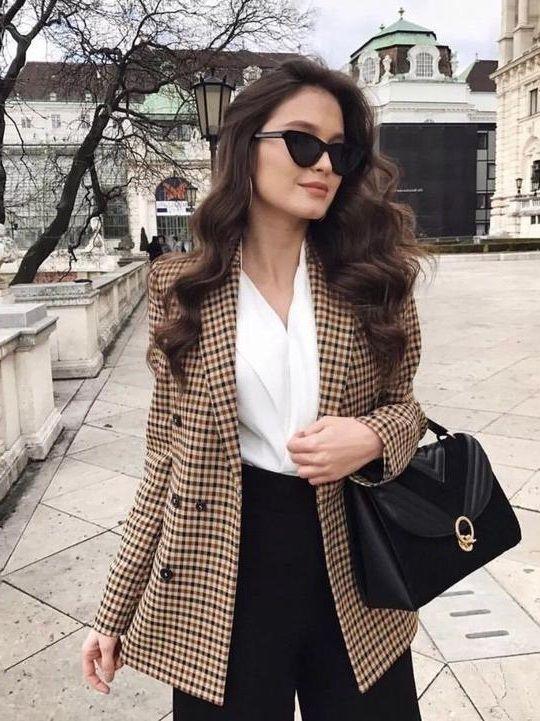Brown Blazer Outfit Ideas for Ladies – kadininmodasi.org in 2020 .