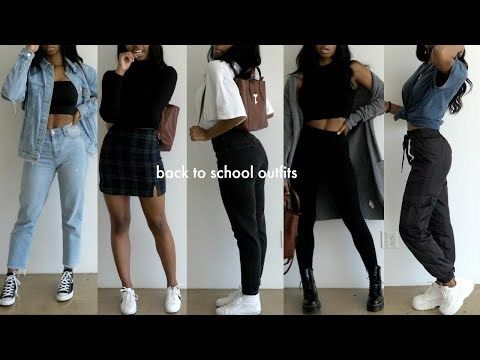 back to school outfit ideas 2019 2020 youtube in 2020 .