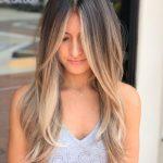 Flattering Blonde Balayage Hairstyle