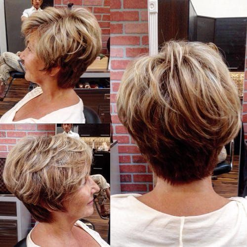 34 Flattering Short Haircuts for Older Women in 2020 | Sporty .