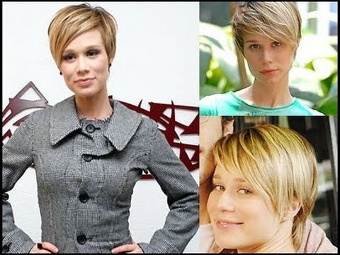 20 Flattering Short Hairstyles For Oval Faces 2014 - YouTu