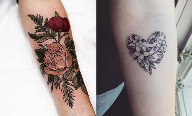 23 Beautiful Flower Tattoo Ideas for Women | StayGl