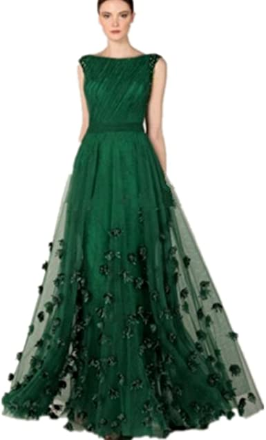 Amazon.com: Formaldresses Emerald Green Prom Dress Formal Evening .