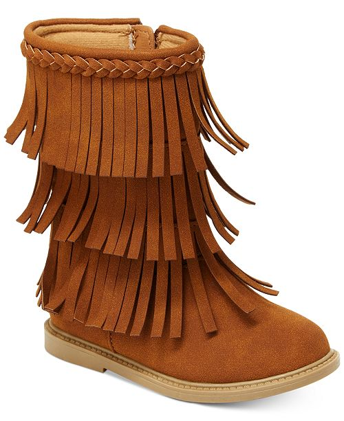 Carter's Toka Fringe Boots, Toddler Girls & Little Girls & Reviews .