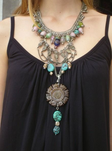 Funky Jewellery Designs | Funky necklace, Funky jewelry, Vintage .