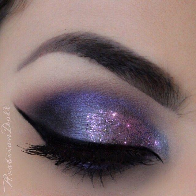 Galaxy Eye Makeup 8 | Makeup, Galaxy makeup, Eye make