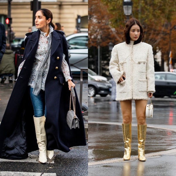 Every Fashion Girl Is Wearing Knee-High Boots Right Now | Glamo