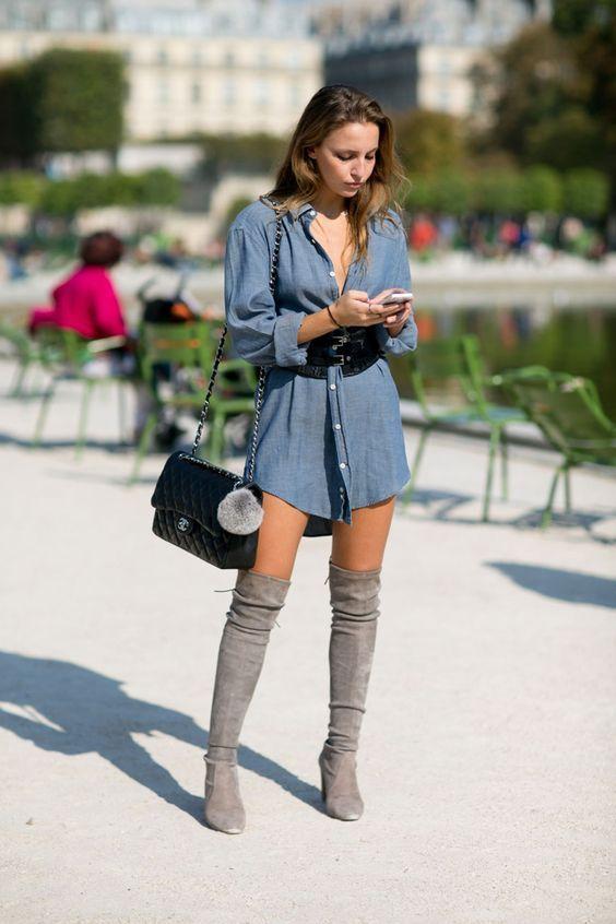 How to Wear Summer Dresses in Autumn – Glam Radar | High knee .