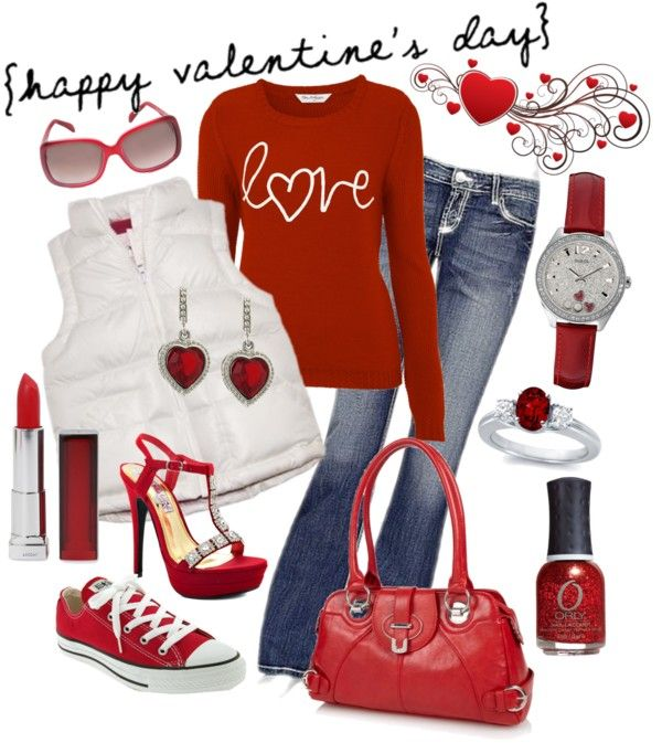 30 Lovely Ideas of Valentines Day Outfits for Ladies and Kids .