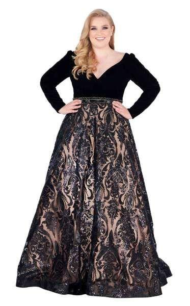 Mac Duggal Fabulouss 67614F Dress | Plus size formal dresses, Plus .