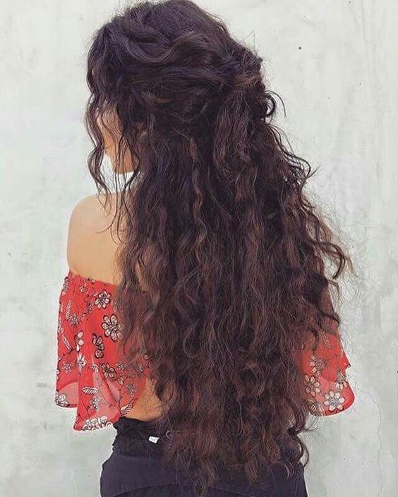 Easy Curly Hairstyles for Long Hair | Curly hair styles easy .