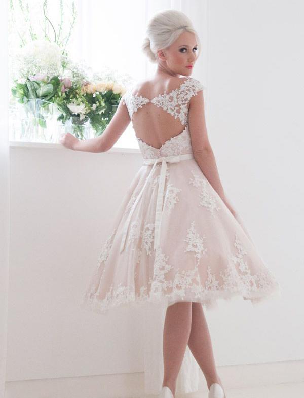 classy short wedding dresses > Clearance sh