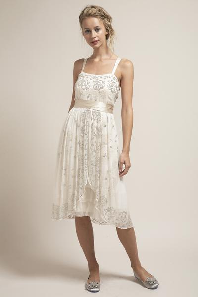 QK6279 Gorgeous Short Wedding Dress – Saja Weddi