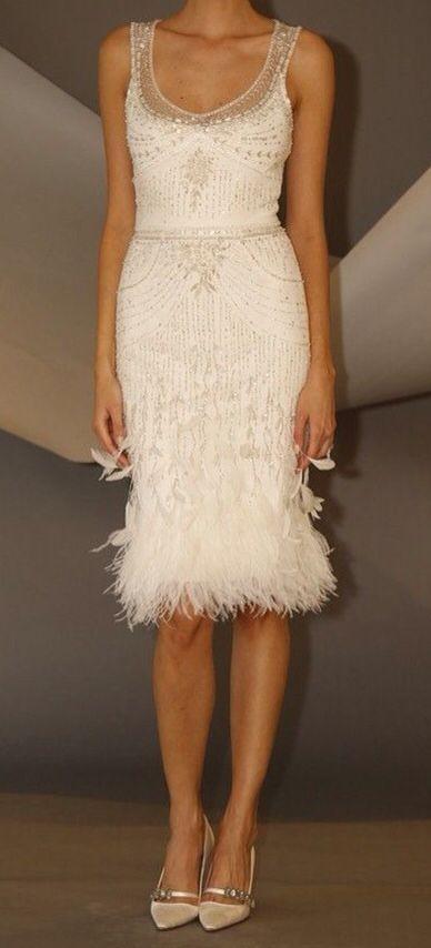 21 Short Wedding Dresses We Want NOW | Short wedding dress .