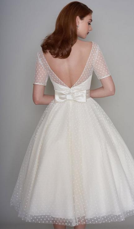 Three Short Wedding Dresses with Bows - Cutting Edge BridesCutting .