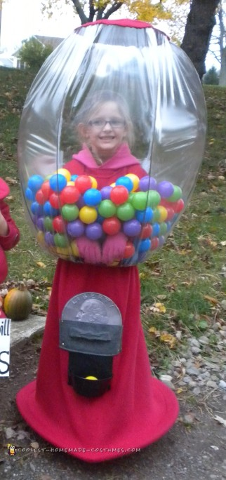 Creative Gumball Machine Costu