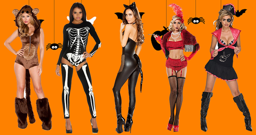 Top 8 Women Sexy Halloween Costume Ideas | Happy Hallowe