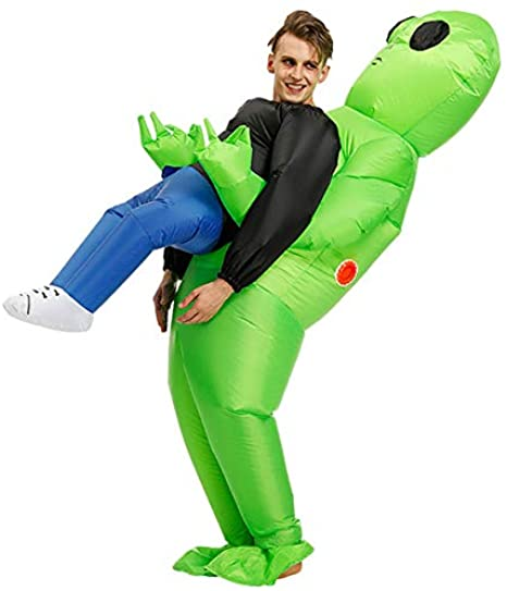 Amazon.com: Poptrend Adults Inflatable Halloween Costumes Blow Up .