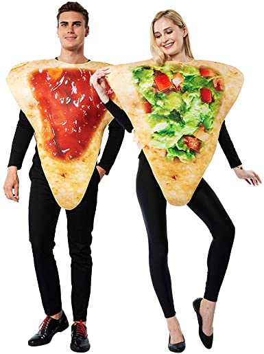 Amazon.com: ReneeCho Adult Couple Halloween Costume Tortilla Chips .