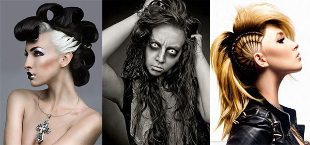 30 Crazy & Scary Halloween Hairstyle Ideas For Girls & Women 2014 .