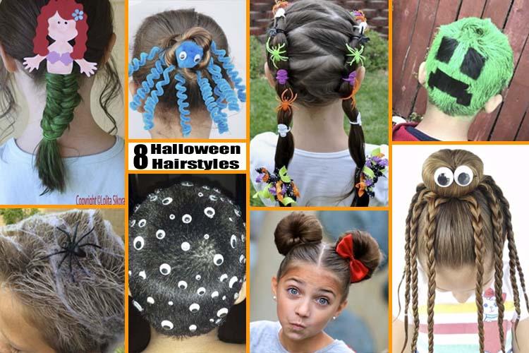 8 Fun & Unique Halloween Hairstyle Ideas For Ki