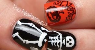 48 Halloween Nail Art Ideas 2020 - Easy Halloween Nail Polish Desig