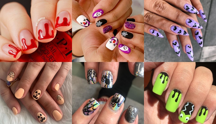 17 easy Halloween nail art ideas that you're gonna want to steal .
