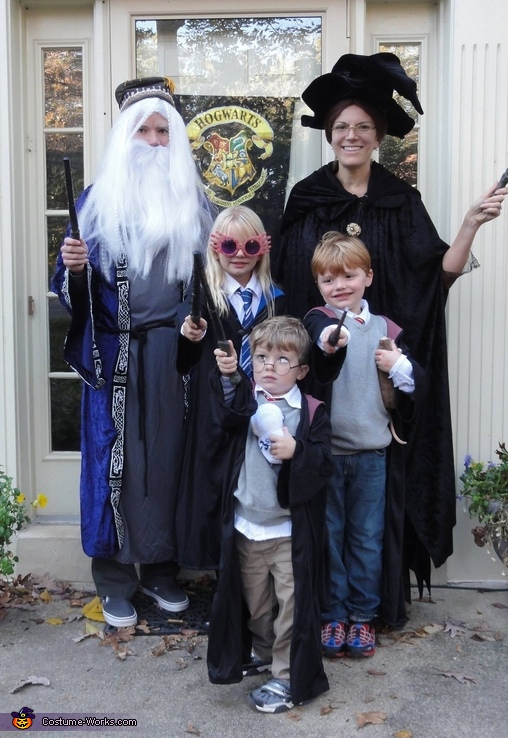 Harry Potter Family Costu