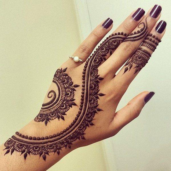 60 Eye-Catching Tattoos on Hand | Cuded | Henna tattoo designs .