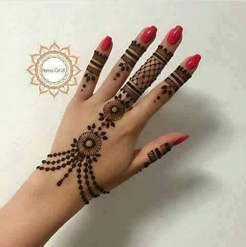 Henna hand design … | Henna tattoo hand, Henna designs hand, Henna .