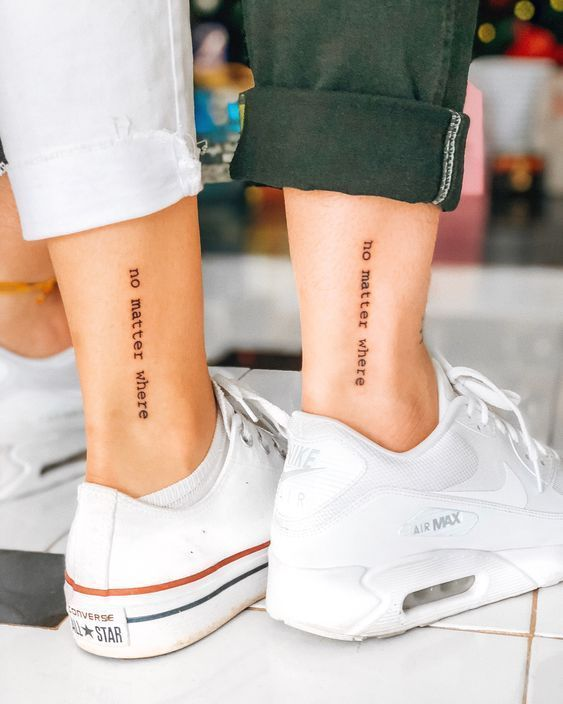 38 Inspiring Couple Tattoo For Your Perfect Match - Page 2 of 38 .