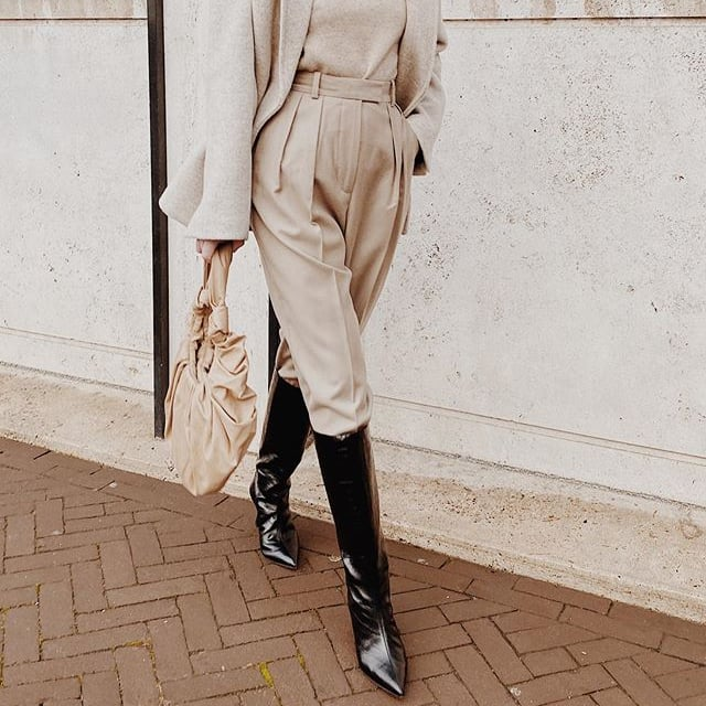 How to Wear Knee-High Boots | Outfit Ideas From Instagram .