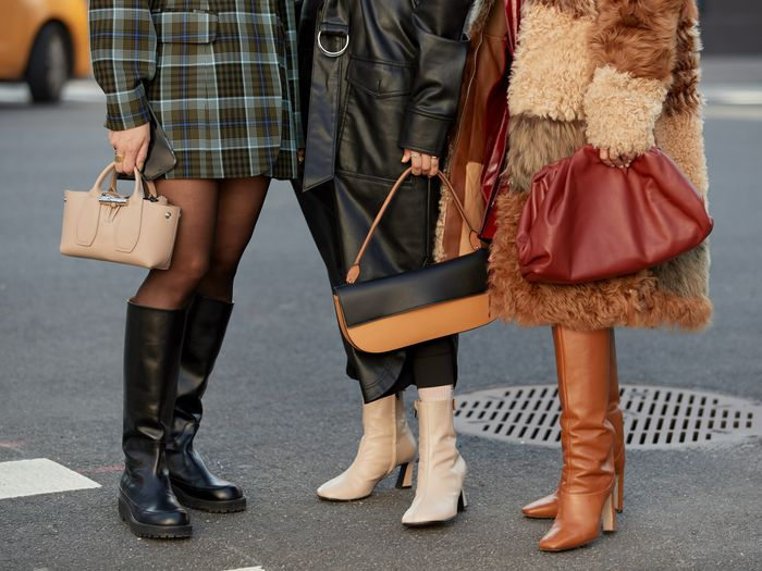 7 Chic Knee-High Boots Outfit Ideas We've Seen in 2020 | Who What We