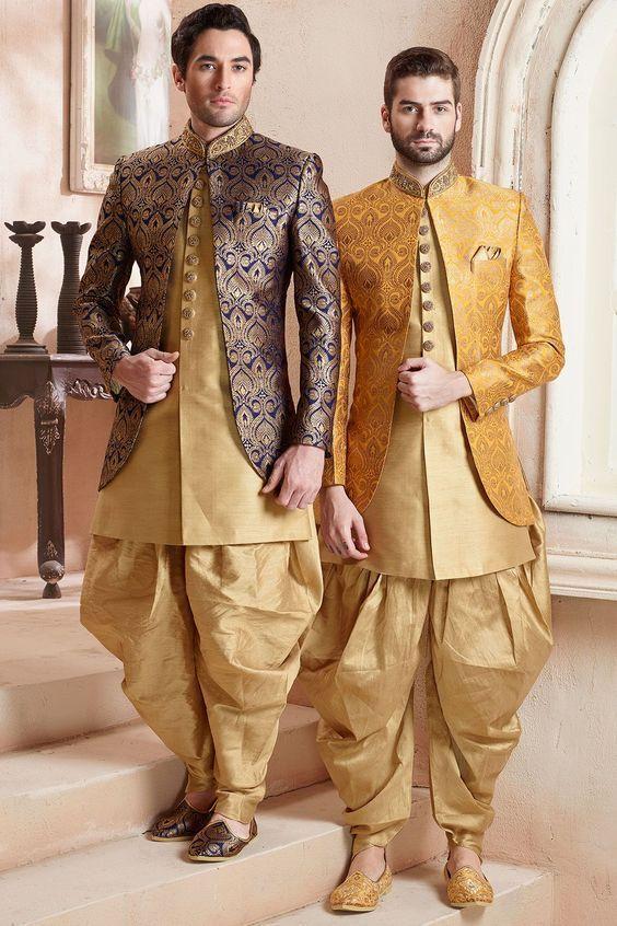 40 Top Indian Engagement Dresses for Men   Latest Groom Dress .