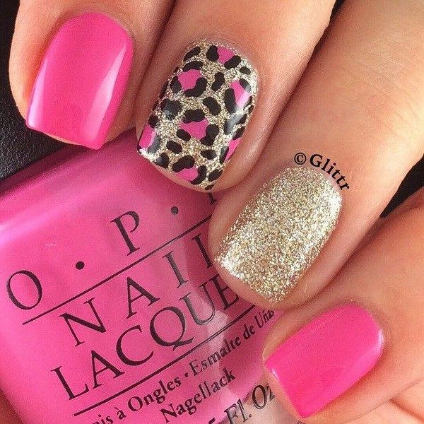 50 Stylish Leopard and Cheetah Nail Designs - For Creative Juice .