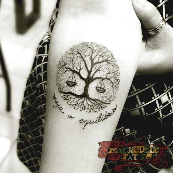 Best libra tattoos | Libra tattoo, Circle tattoos, Tattoo desig