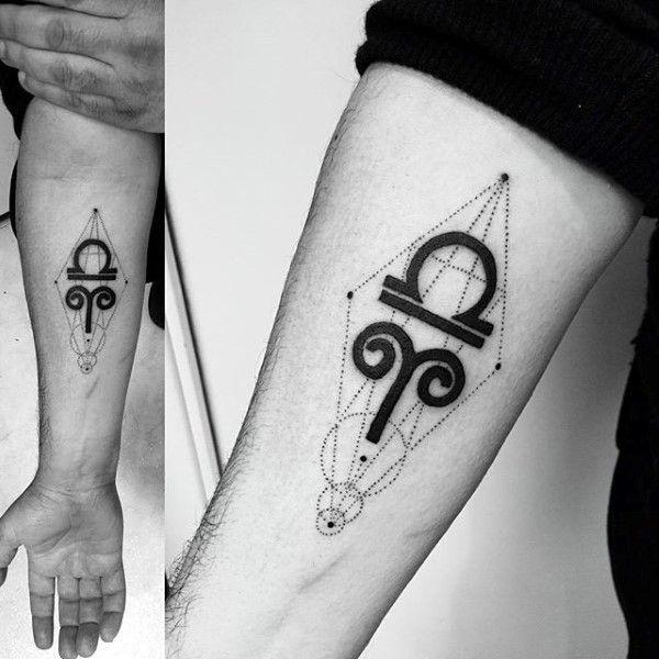 Top 57 Libra Tattoo Ideas [2020 Inspiration Guide] | Aries tattoo .