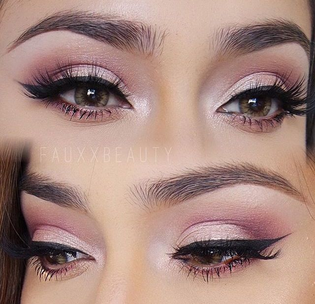 Smokey Eye Makeup | Cat Eyeliner | Smoky eye makeup, Pink eye .